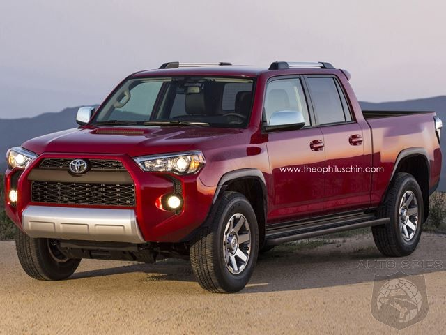 What If Toyota Ditched The Tacoma And Made A 4 Runner Pickup Instead?