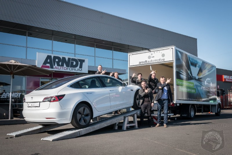 Used Model 3 Vehicles Turning Up As Taxis In Europe