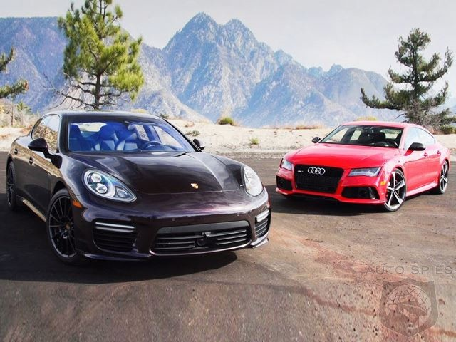 Who's Your Daddy?  2014 Audi RS7 vs 2014 Porsche Panamera Turbo Video Shootout!