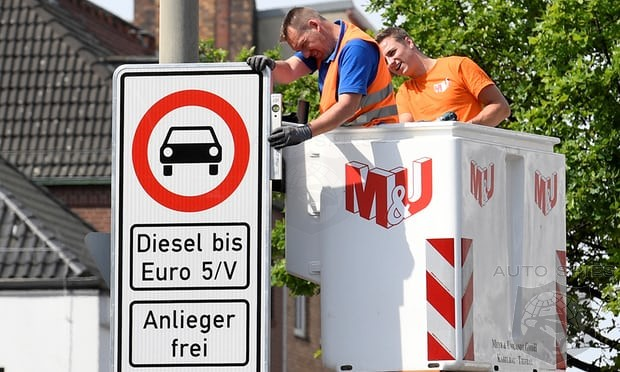 Hamburg Germany To Ban Two Thirds Of Diesels On The Road In Just Over A Week