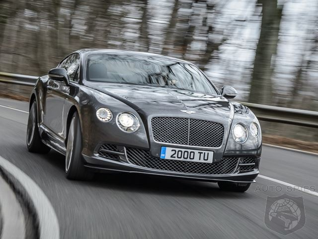 Bentley Prepares 206 MPH  Continental GT Speed For Geneva Debut