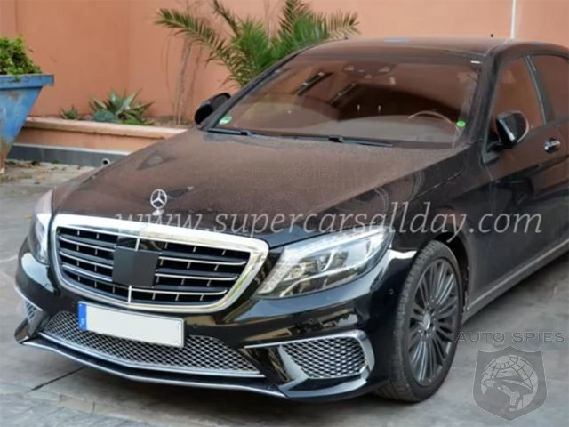 VIDEO: 2015 Mercedes-Benz S65 AMG Maybach Prototype Found Uncloaked