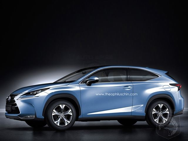 So You Think The Lexus NX Looks Cool Right Now? Do 3 Doors Look Even Better?