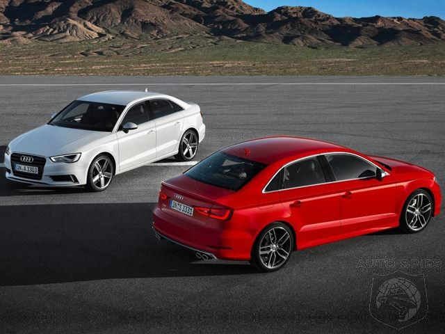 New Sheriff In Town? Audi's A3 Outsells Mercedes-Benz CLA In April