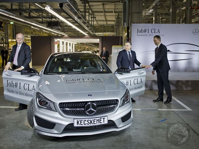 Mercedes CLA Production Halted Due To Bomb Threat