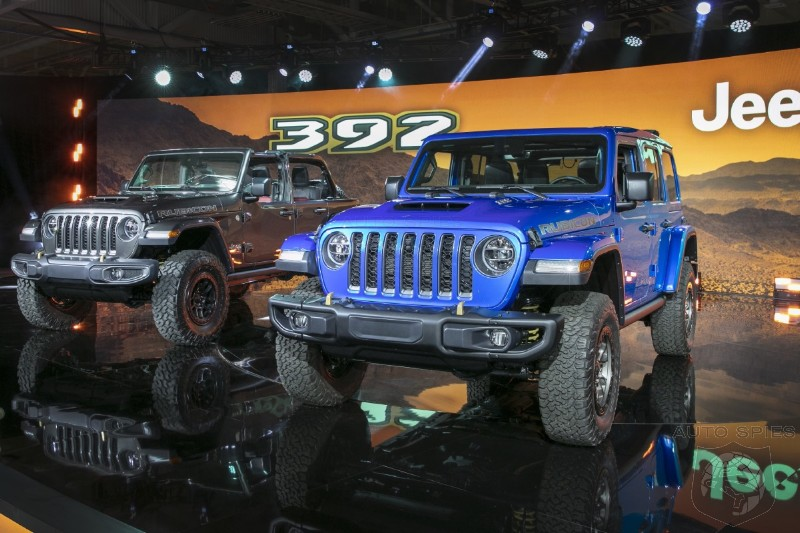 2021 Jeep Wrangler Launch Edition Rubicon 392 To Start At $75,000