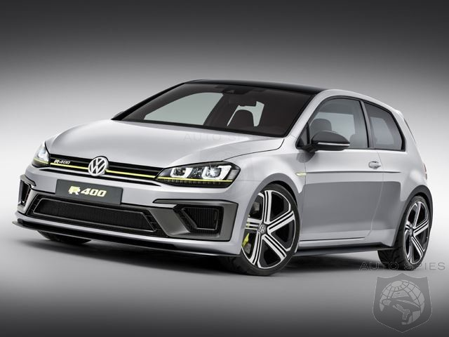 VW Confirms Golf R 400 Will Have More Than 400 HP