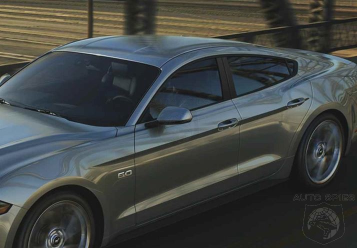 Ford Plans To Expand Mustang Lineup Include A 4 Door V8