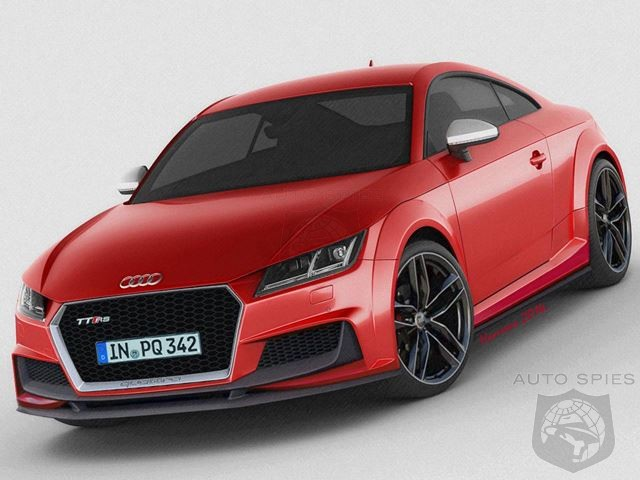 Third-Gen Audi TT RS Plus To Have 408HP 2.5 Liter 5 Cylinder Powerplant