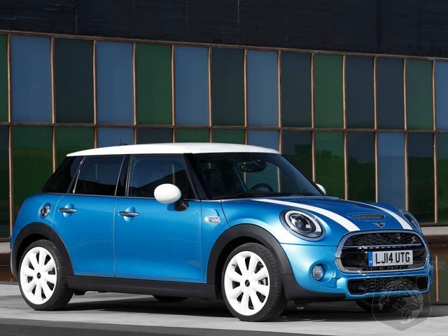 STUD OR DUD? Mini Reveals Stretched 5 Door Hatchback