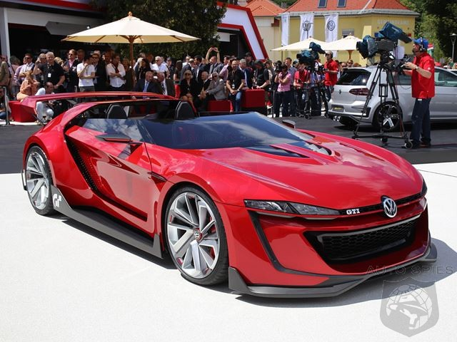 Not Quite Sold On VW's GTI Roadster Vision Gran Turismo Just Yet - Maybe This Video Will Make You A Believer!