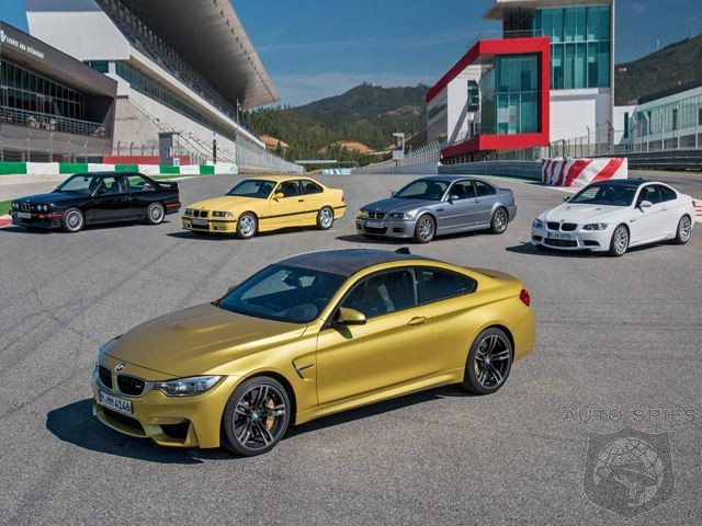BMW Reveals That M4 Coupe Has Destroyed M3 Nurburging Laptime By 13 Seconds