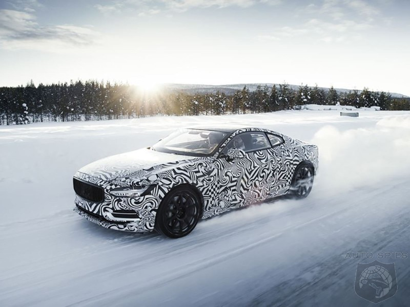 See The Fury: Polestar 1 Caught Performance Testing In Extreme Conditions