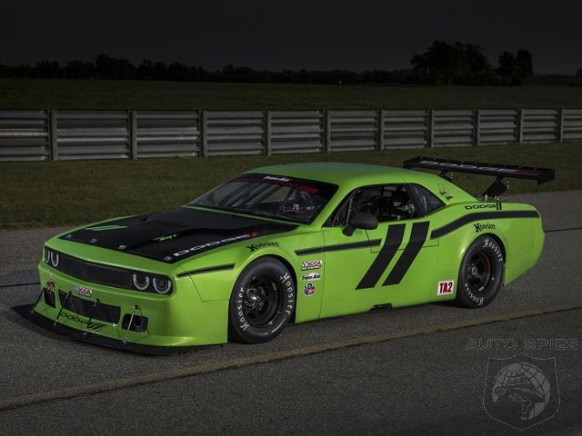 Dodge Returns To Trans Am Racing With Challenger SRT - 200 HP LESS Than A Hellcat