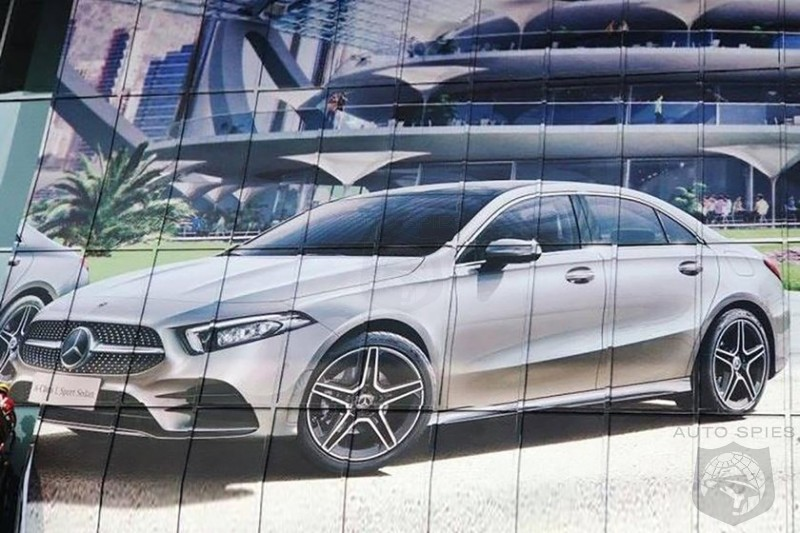 Chinese Magazine Leaks Mercedes Benz A-Class Sedan Ahead Of Beijing Debut
