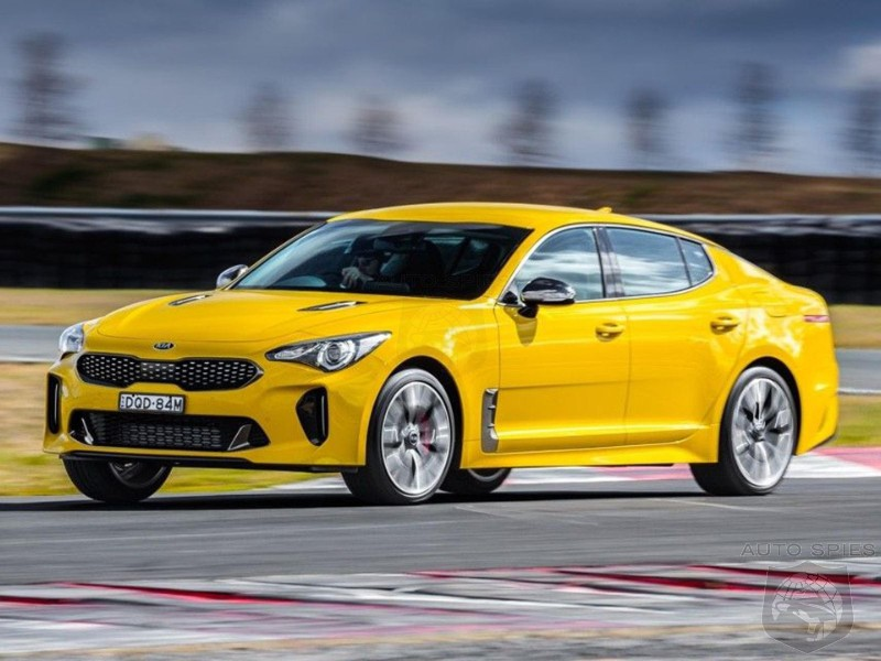 If You Own A YELLOW Kia Stinger Get Ready For A Recall