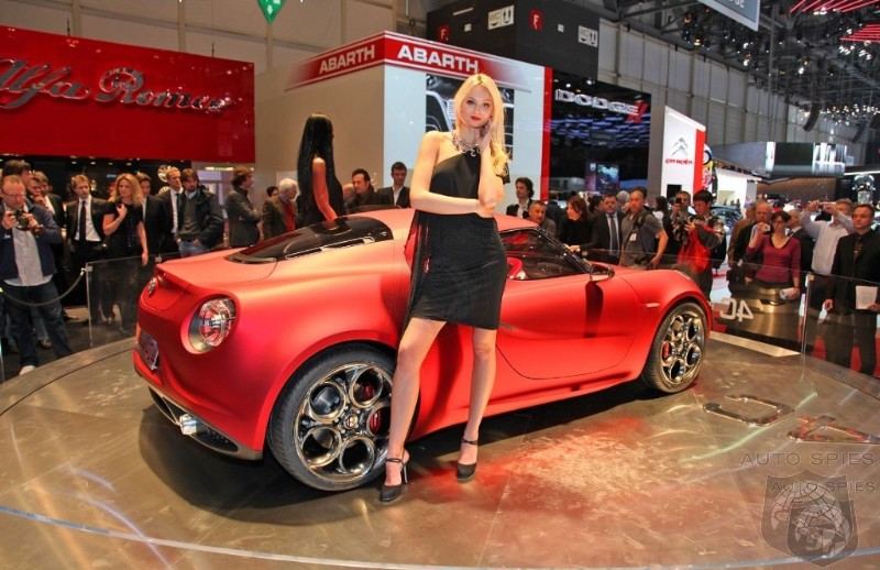 Alfa Romeo 4C To Spearhead US Launch In 2014