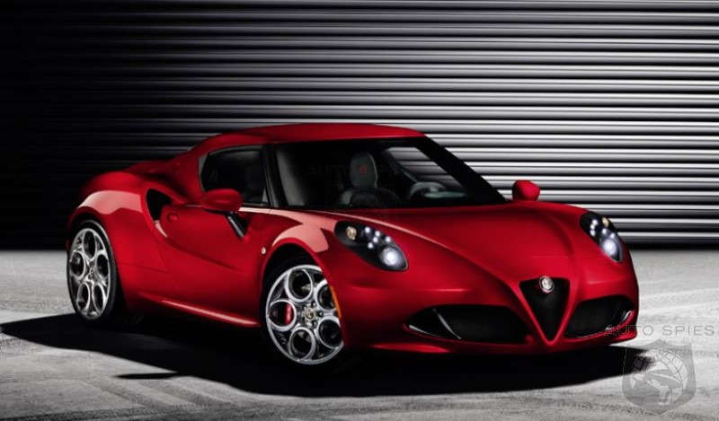 Is Alfa Romeo Taking A Stab At Porsche With The New Mid-Engined 4C?