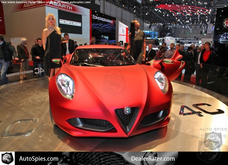 240 HP Enough? Alfa Romeo Details US Spec 4C Convertible