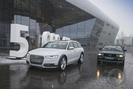 Audi Rolls 5 Millionth Quattro Off The Assembly Line