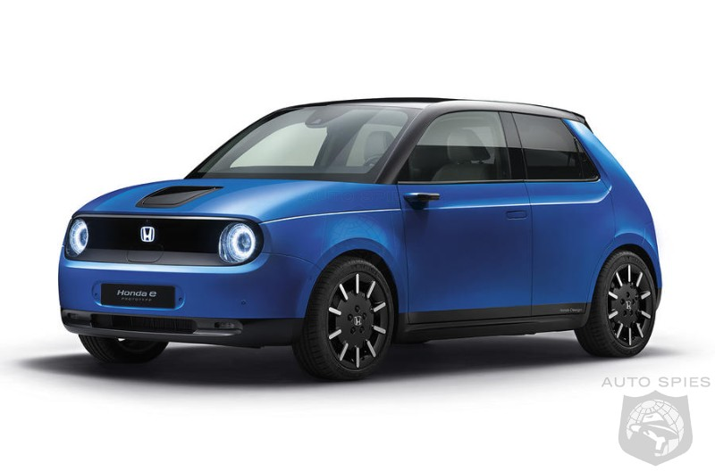 Honda To Target BMW's i3 With Honda e City Car - Is That A Reach?