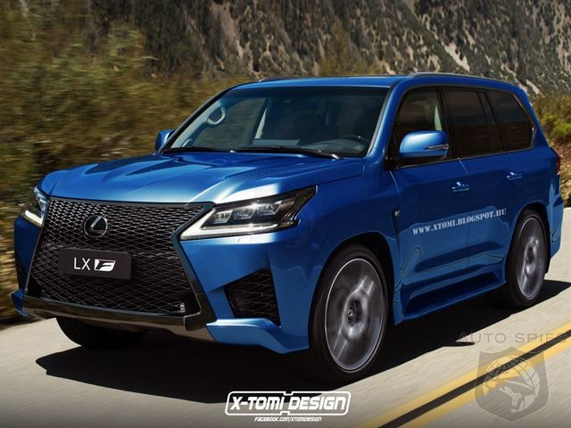 If Lexus Built A High Performance LX F Who Would Buy It
