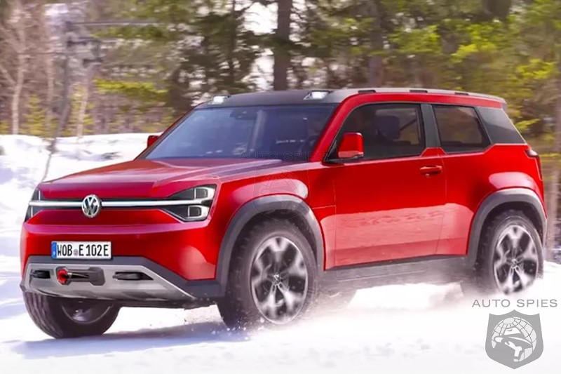 Volkswagen Considers Rough and Tumble EV SUV To Take On New Defender