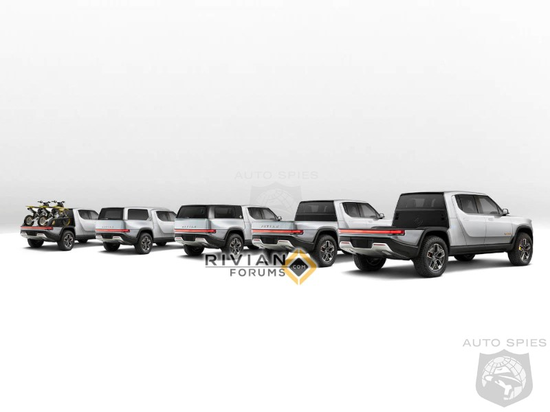 Rivian Outflanks US Truck Makers With Modular Bed Option