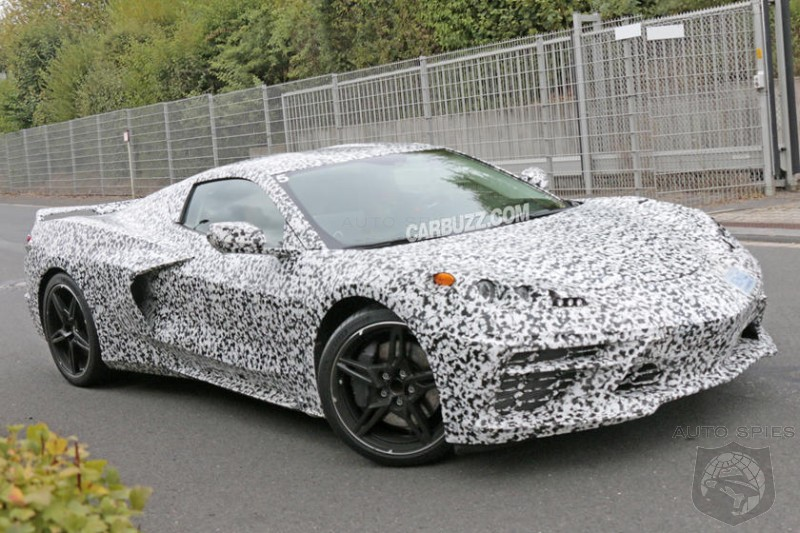 Corvette Prototypes Are So Powerful They Are Bending The Frames Of Test Vehicles