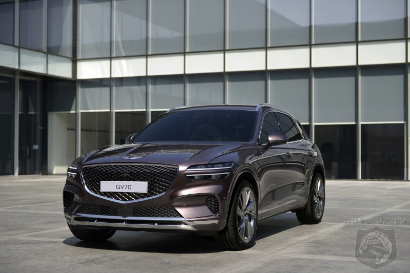 Genesis Previews 2021 GV70 SUV - Who Should Be Shaking In Their Boots?