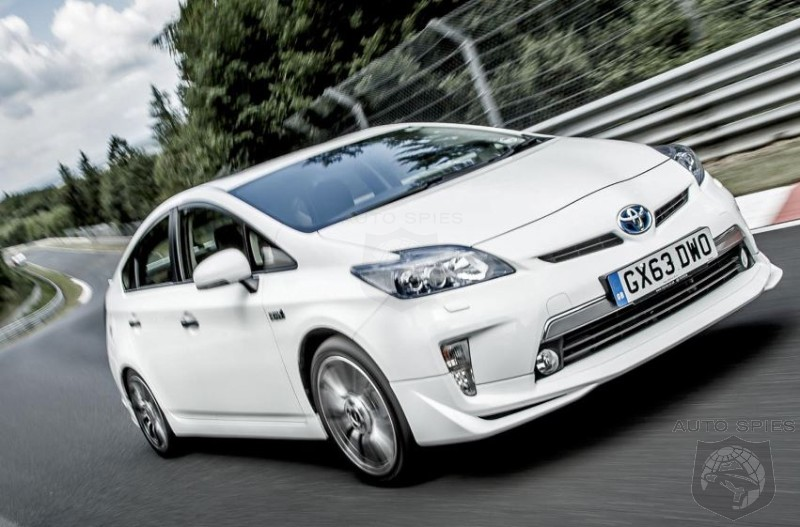 TRD Prepared Toyota Prius Records 698 MPG Lap Around Nürburgring