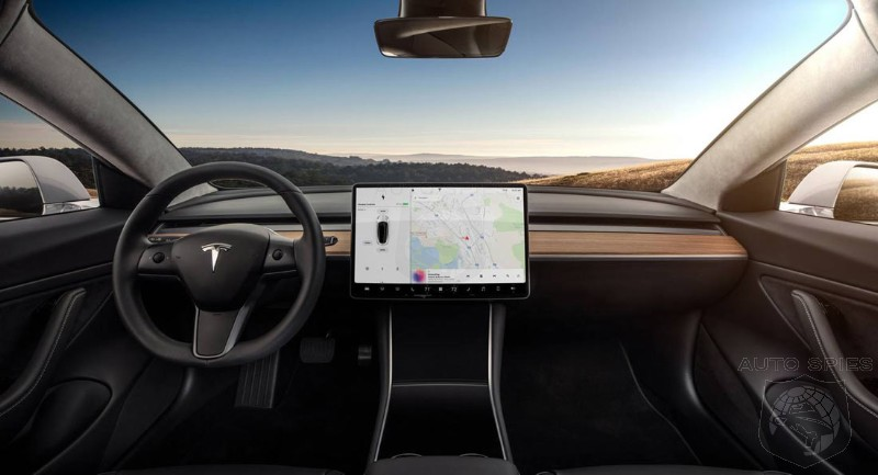 Model s and model x adopting minimalist model 3 like for Interior tesla model s