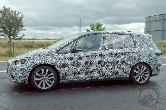 Is BMW Targeting Soccer Moms Or Taxi Fleets With 7 Seat 2-Series Active Tourer?