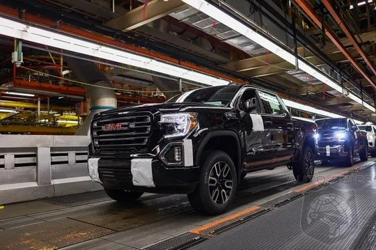 General Motors Throws Truck Plants Into Overdrive To Replenish Inventories