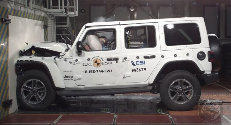 2019 Jeep Wrangler Scores Only 1 Star In European Safety Rankings
