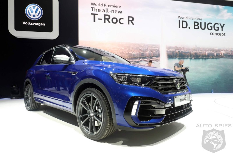 Volkswagen's T-Roc R High Performance Crossover Goes On Sale In Europe Priced Just Under $50K