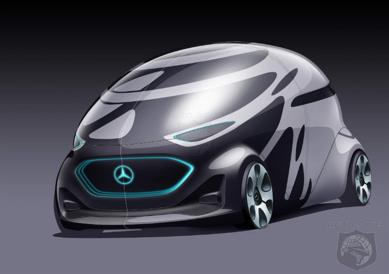 Oh Lord No: Mercedes Confuses Everyone With Odd Urbanetic People Mover
