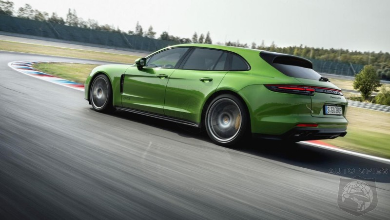 Rebirth Of The Wagon? Porsche Reveals Panamera GTS