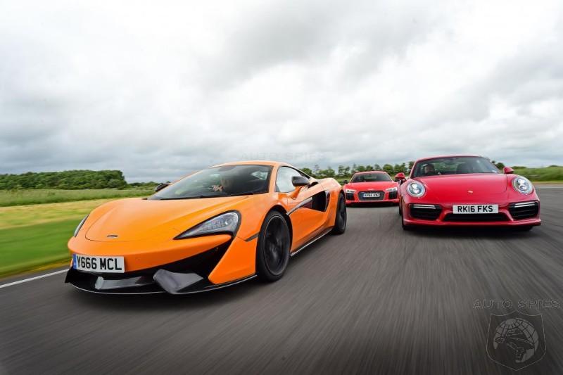 Which Is The BEST Everyday Supercar? McLaren 570S vs Audi R8 V10 Plus vs Porsche 911 Turbo S ...