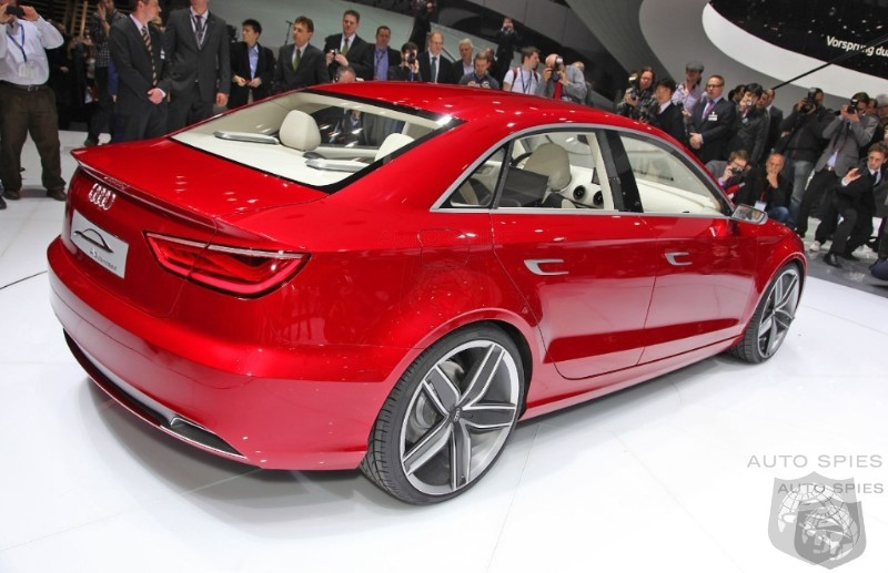 Audi Says First Car Out Of New Hungarian Plant In 2013 Will Be The A3 Sedan
