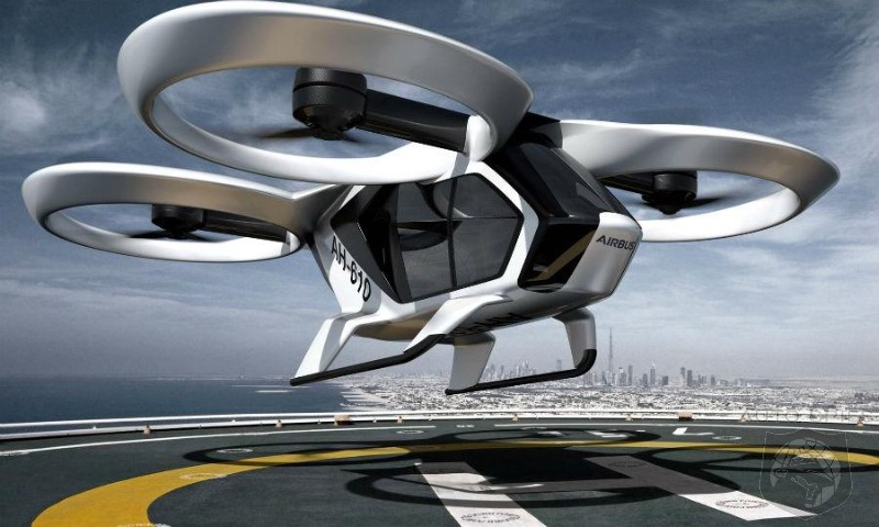 Audi, Airbus And Germany Sign Agreement For Flying Taxi Service