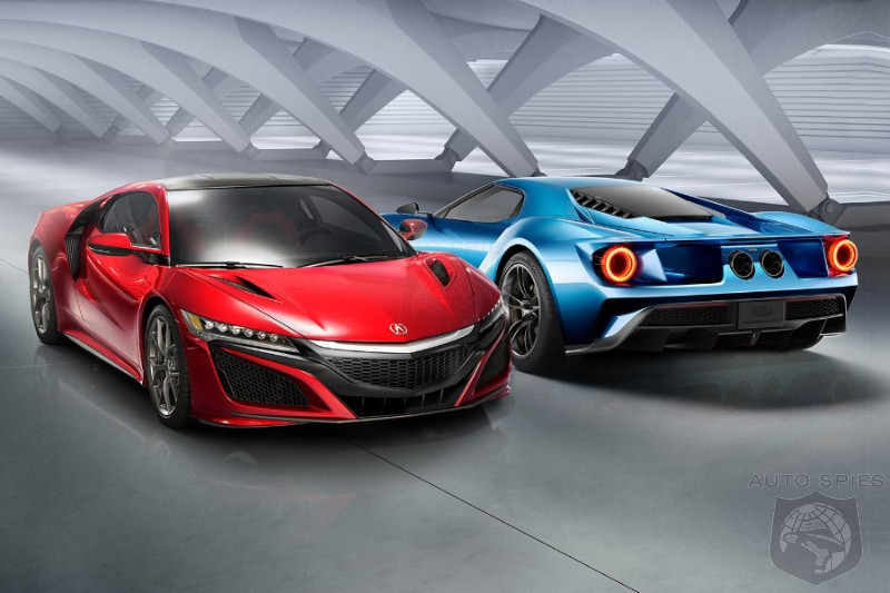 The  Year Old Nsx Or Fords All New