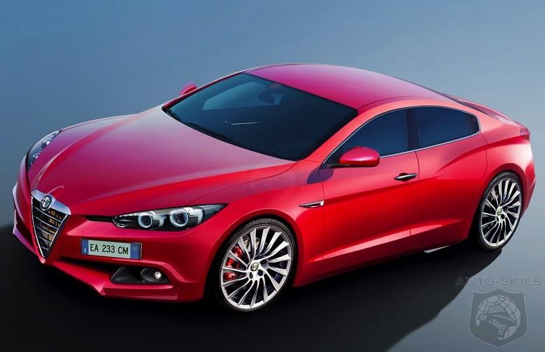 Alfa Romeo S New Giulia To Take On The Germans With Ferrari Designed
