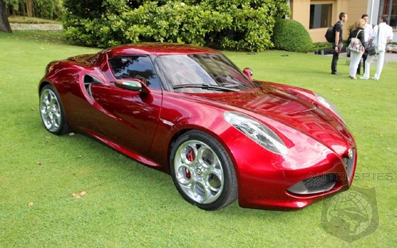 Alfa Romeo Readies 4C For 2013 Debut - Could This Be The Z4 Killer We Have Been Waiting For?