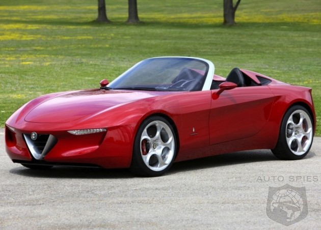 Alfa Romeo Roadster And Mazda MX-5 To Be Built In Same Japanese Factory