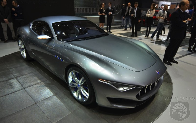 Maserati Confirms Production Alfieri Will Be Identical To Concept