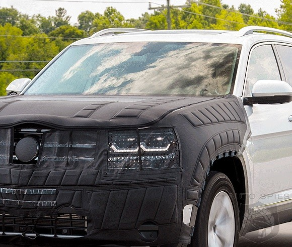 "BREAKING: Volkswagen Names New Midsized Crossover ""Atlas"