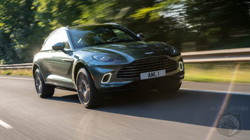 DRIVEN Aston Martin s New DBX Gives Porsche PLENTY To Worry About
