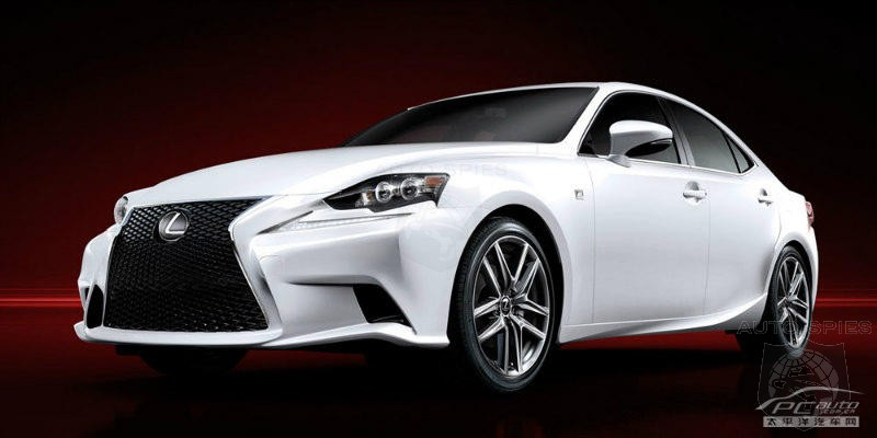 DETROIT AUTO SHOW:  STUD OR DUD? 2014 Lexus IS F Sport Leaks Before The Big Debut!