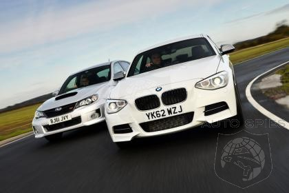 BMW M135i vs Subaru WRX STi 320R - Which Is More Fun?